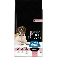 Purina Pro Plan OptiDerma Sensitive Skin Large Robust Adult Dog Food (Salmon) 14kg big image