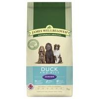 James Wellbeloved Senior Dog Dry Food (Duck & Rice) big image
