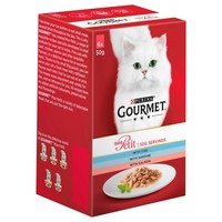 Purina Gourmet Mon Petit Wet Cat Food Pouches (Cod, Sardine & Salmon) big image