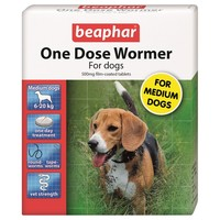 Beaphar One Dose Wormer for Medium Dogs big image
