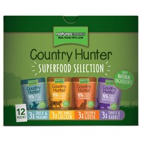 Natures Menu Country Hunter Cat Food 12 x 85g Pouches (Superfood Selection) big image