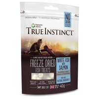 True Instinct Freeze Dried Cat Treats (White Fish with Salmon) 40g big image