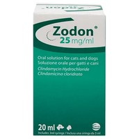 Zodon 25mg/ml Oral Solution for Cats and Dogs big image