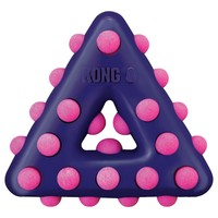 Kong Dotz Triangle Dog Toy big image