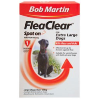 Bob Martin FleaClear Spot On for Extra Large Dogs (3 Treatments) big image