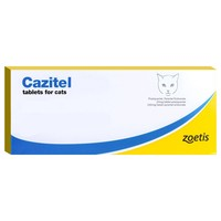 Cazitel Flavoured Tablets for Cats big image