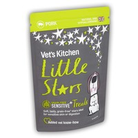Vet's Kitchen Little Stars Sensitive Grain Free Dog Treats 85g (Pork) big image