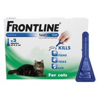 Frontline Spot On for Cats (3 Pack) big image