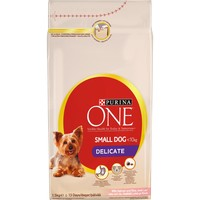 Purina One Delicate Small Dog Food 1.5kg (Salmon & Rice) big image