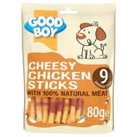 Good Boy Cheesy Chicken Sticks 80g big image
