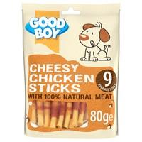 Good Boy Cheesy Chicken Sticks 80g big image