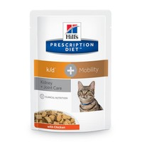 Hills Prescription Diet KD Plus Mobility Pouches for Cats big image
