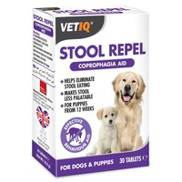 VetIQ Stool Repel 30 Tablets for Dogs and Puppies big image