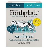 Forthglade Grain Free Complete Adult Wet Dog Food (Sardine) big image