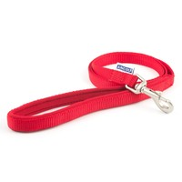 Ancol Heritage Padded Nylon Dog Lead 1m (Red) big image