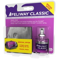 Feliway Classic Travel Transport Spray 20ml Bottle big image