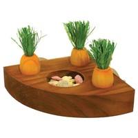 Rosewood Boredom Breaker Carrot Toy 'n' Treat Holder big image