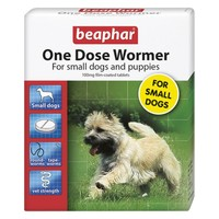 Beaphar One Dose Wormer for Small Dogs and Puppies big image