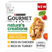 Purina Gourmet Nature's Creations Slow Cooked Mini Fillets (Poultry) big image