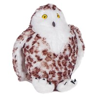 Suri Snowy Owl Squeaking Dog Toy big image