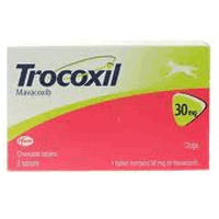Trocoxil Chewable Tablet for Dogs 30mg (Single Tablet) big image