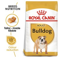 Royal Canin Bulldog Dry Adult Dog Food 12kg big image