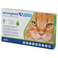 Stronghold Plus 60mg Spot-On Solution for Cats (3 Pipettes) big image