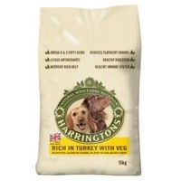 Harringtons Complete Rich in Turkey with Veg Dog Food big image