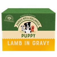 James Wellbeloved Puppy Wet Dog Food Pouches (Lamb & Rice) big image