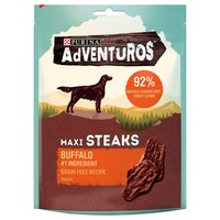 Purina Adventuros Maxi Steaks with Wild Buffalo 100g big image