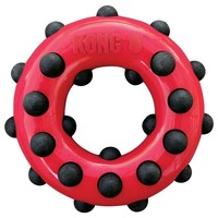 Kong Dotz Circle Dog Toy big image