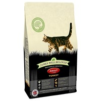 James Wellbeloved Adult Cat Dry Food (Turkey & Rice) big image