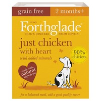 Forthglade Just Chicken with Heart Grain Free Dog Food big image