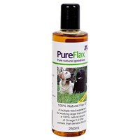 Pureflax Flax Seed Oil for Dogs 250ml big image