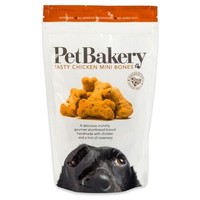 Pet Bakery Chicken Mini Bones Dog Treats 190g big image