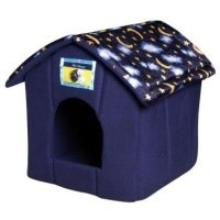Ancol Just 4 Pets House Bed - Moon & Stars big image