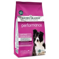 Arden Grange Performance Adult Dog Dry Food (Chicken & Rice) 12kg big image