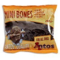 Antos Mini Bones Tripe Dog Treats 200g big image