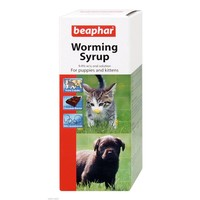 Beaphar Worming Syrup for Puppies and Kittens 45ml big image