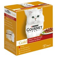 Purina Gourmet Gold Chunks in Gravy Wet Cat Food (Gravy Collection) big image