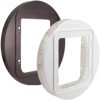 Sureflap Pet Door Mounting Adaptor (Brown) big image