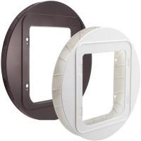 Sureflap Pet Door Mounting Adaptor (Brown) big image