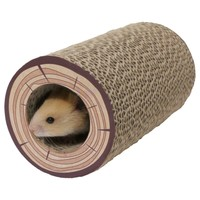 Rosewood Shred-A-Log Corrugated Tunnel for Small Animals big image
