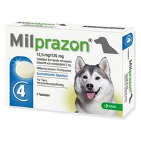Milprazon 12.5mg/125mg Tablets for Dogs big image