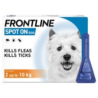 FRONTLINE Spot On Flea and Tick Treatment for Small Dogs big image