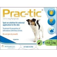 Prac-Tic Spot-On for Small Dogs 6 Pack big image