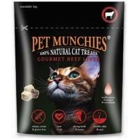 Pet Munchies Gourmet Beef Liver Cat Treats big image