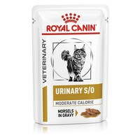 Royal Canin Urinary S/O Moderate Calorie Pouches for Cats big image