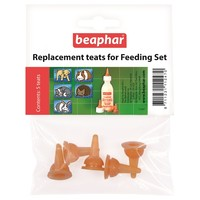 Beaphar Replacement Teats for Feeding Set big image