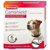 Beaphar Canishield Flea and Tick Collar for Dogs big image